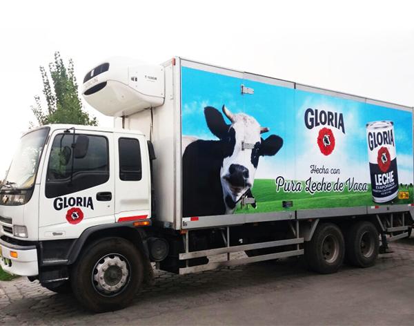 brandeado camiones gloria