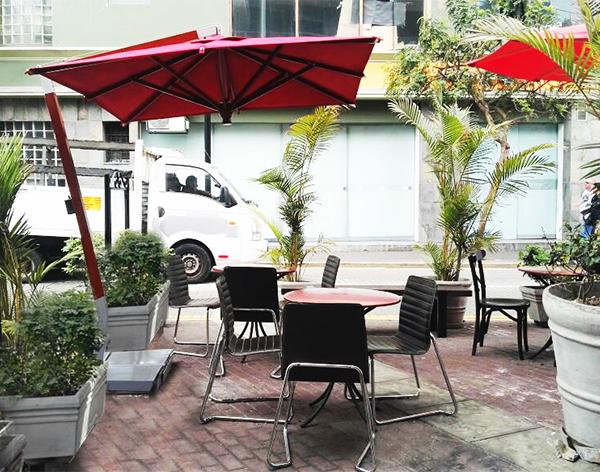sombrillas residenciales cafe cafe